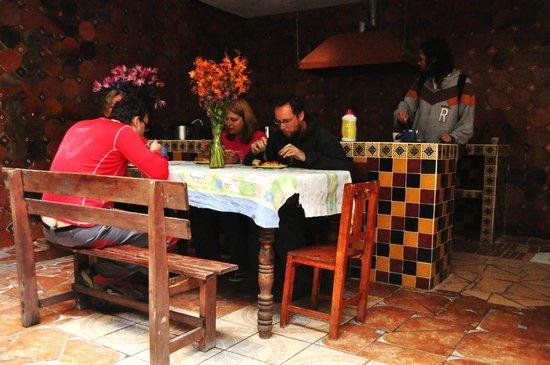 Planet Hostel: Cocina para uso exclusivo de los Huespedes