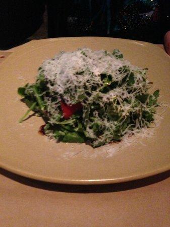 CUCINA urbana : arugula and heirloom tomato salad