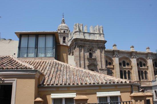 Hotel Molina Lario: Vue de la chambre