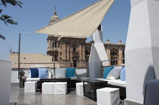 Hotel Molina Lario: Terrasse