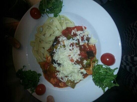 cafe galatea: tagatelle special