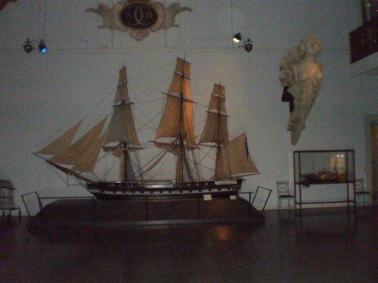 Maritime Museum: ship model