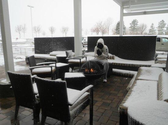 Home2 Suites by Hilton Salt Lake City / West Valley City: Aquecendo no lado de fora!!!