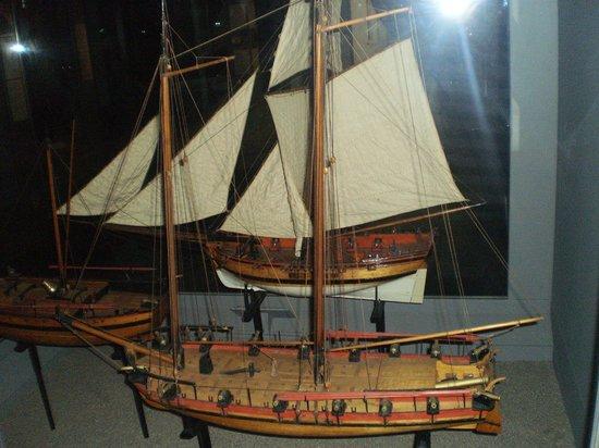 Maritime Museum: model