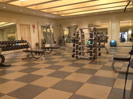 Hilton Los Cabos Beach & Golf Resort : gym