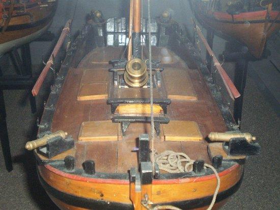 Maritime Museum: deck