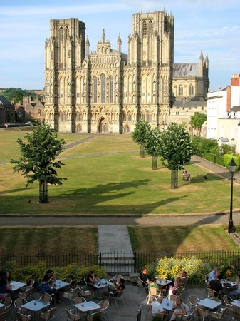 Best Western Plus Swan Hotel: Wells cathedral from our room