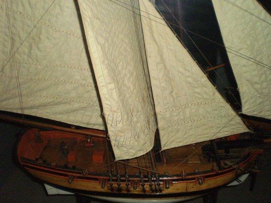 Maritime Museum: sails