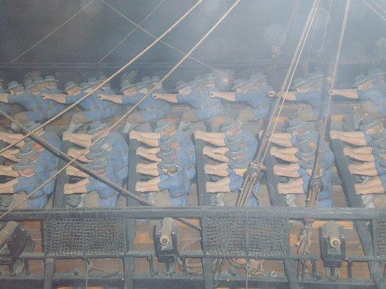 Maritime Museum: oars
