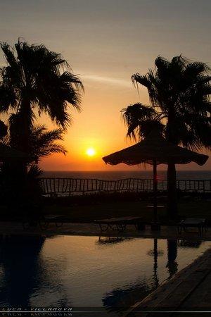 Tamra Beach: alba dalla piscina panoramica