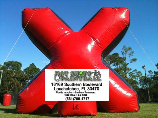Loxahatchee, FL: Hot Shots Paintball 9 Fields on 20 Acres! No need to go anywhere else!