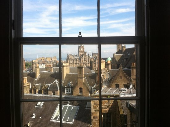 Stay Edinburgh City Apartments - Royal Mile : View from lounge