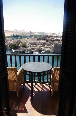 Sofitel Legend Old Cataract Aswan: Balcony view