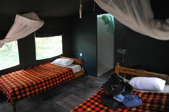 Mara Springs Safari Camp: interno tenda