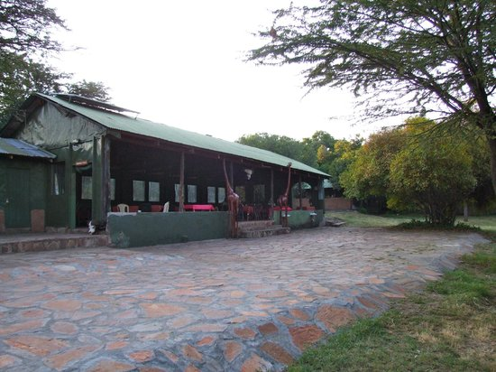 Mara Springs Safari Camp: zona pranzo