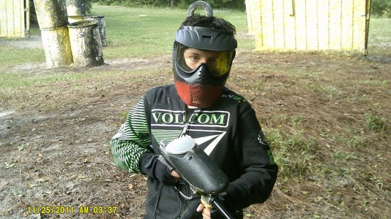 Hot shots paintball