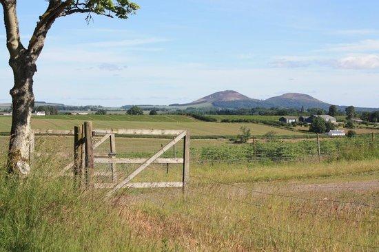 The Auld Cross Keys: Eildon Hills