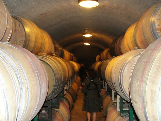 Tres Sabores Winery : Inside Cave