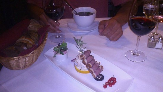 Griechenbeisl Inn: Smoked Duck Breast