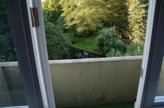 Steen's Hotel : Balkon Zimmer 24
