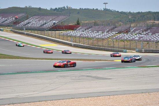 Autodromo Internacional do Algarve: From outside seating area on 1st bend