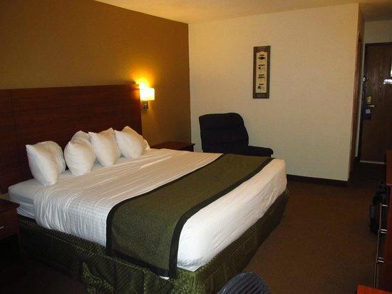 Baymont Inn & Suites Dubuque: Our Room