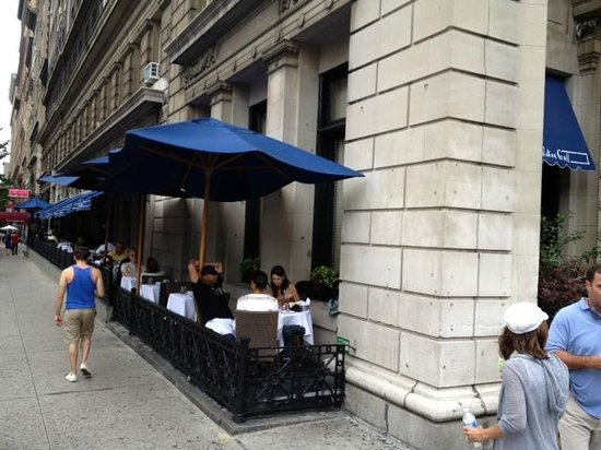 Blue Water Grill Outdoor Dining Tables At Union Square