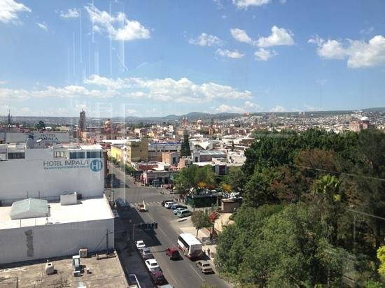 Hotel Real Alameda: from the rooftop