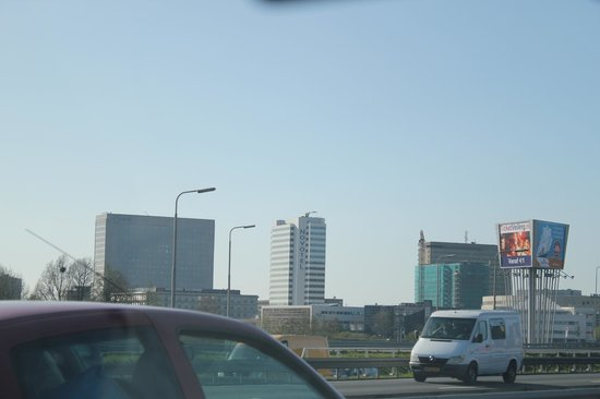 Novotel Rotterdam Brainpark: hotel vu du pont