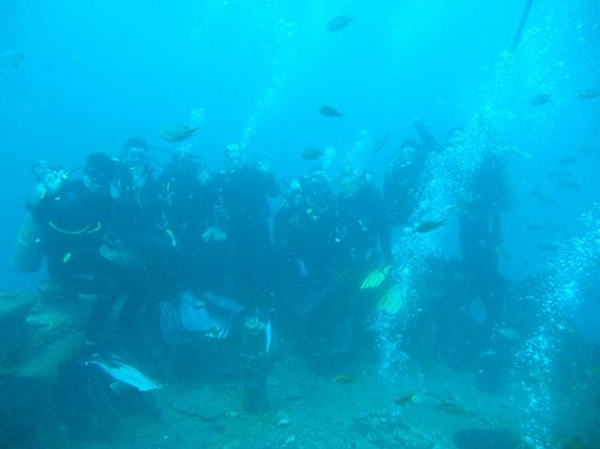 Diving Center Dive Club Italiano: Il gruppo del Thistlegorm
