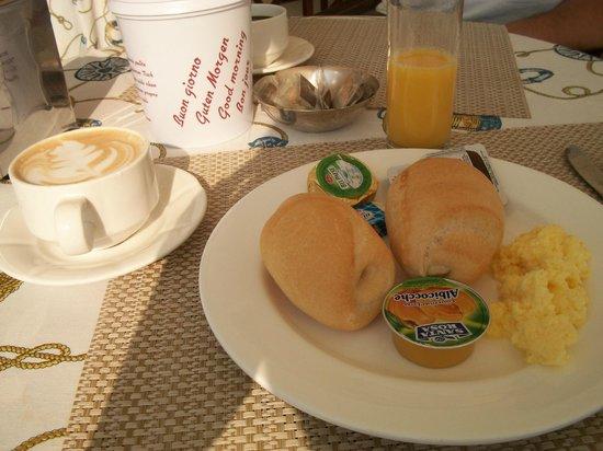 Hotel Jasmin: Frühstücksbeispiel