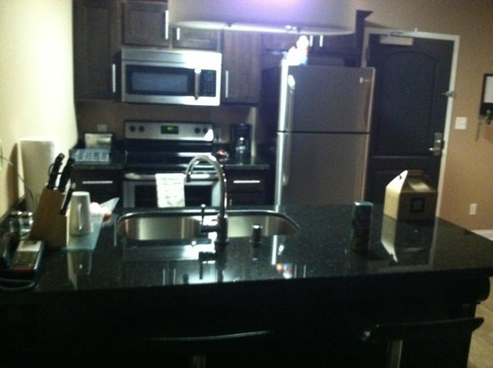 The Hotel SYNC: Spotless kitchen with new appliances