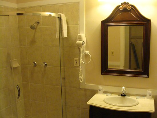 America's Best Value Inn : bathroom shower