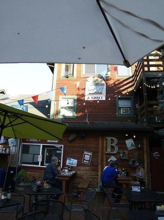 Cactus Jack's Saloon: The patio