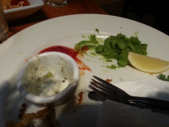 Bridge Bar and Eating House : burnt mushy peas