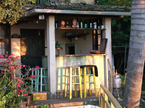 Pousada The Rosebud: barbecue room