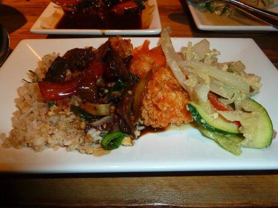 The Rising Sun Thai & Pan-Asian: Lots of food