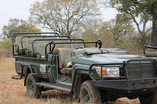 andBeyond Ngala Tented Camp: Our Wheels