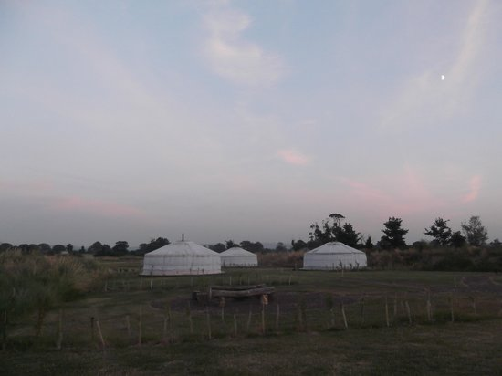 Dusk at Caalm Camp