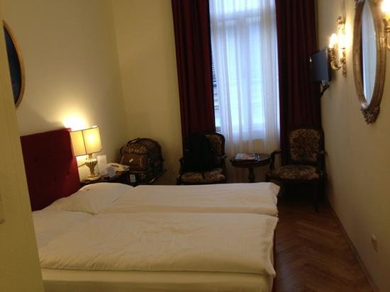 Graben Hotel: our home for 8 nights