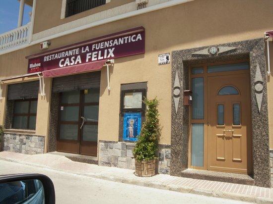 Restaurante marisqueria casa felix abanilla for Restaurante casa jardin murcia