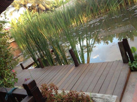 Maison Dalabua Hotel: Passarela do lago