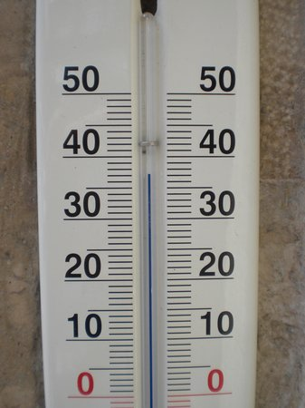 Radisson Blu Beke Hotel, Budapest : Temperatura del día D.