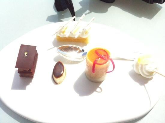 Le Petit Nice : les mignardises digne d'un trois macaron