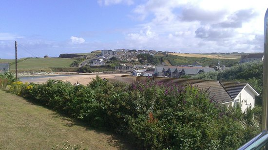 BEST WESTERN Porth Veor Manor Hotel: view from villa