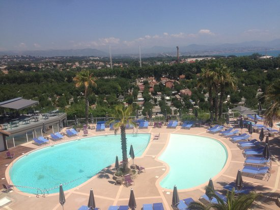 Hotel Baie des Anges: View from Room