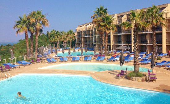 Hotel Baie des Anges: Complex