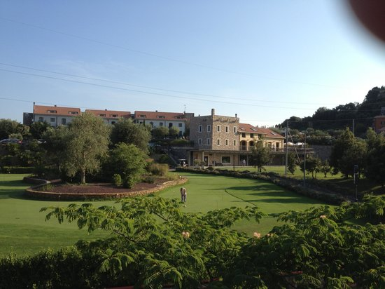 Castellaro Golf Resort : View from the appartment (NOT rooms!)