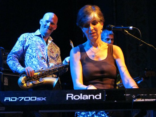 Aladdin Theater: Gator Blues Gal, Marcia Ball tickles the ivories at the Aladin