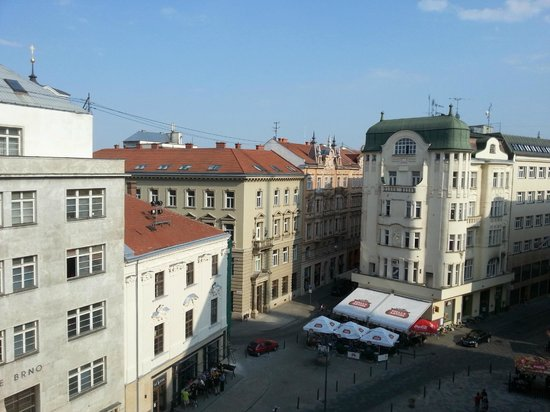 Jacob Brno Apartments - Hostel - Penzion : View straight out